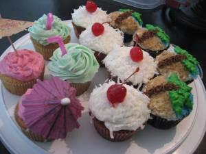 Hawaiian Cupcakes 022