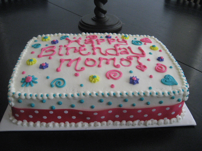Big Y Sheet Cake