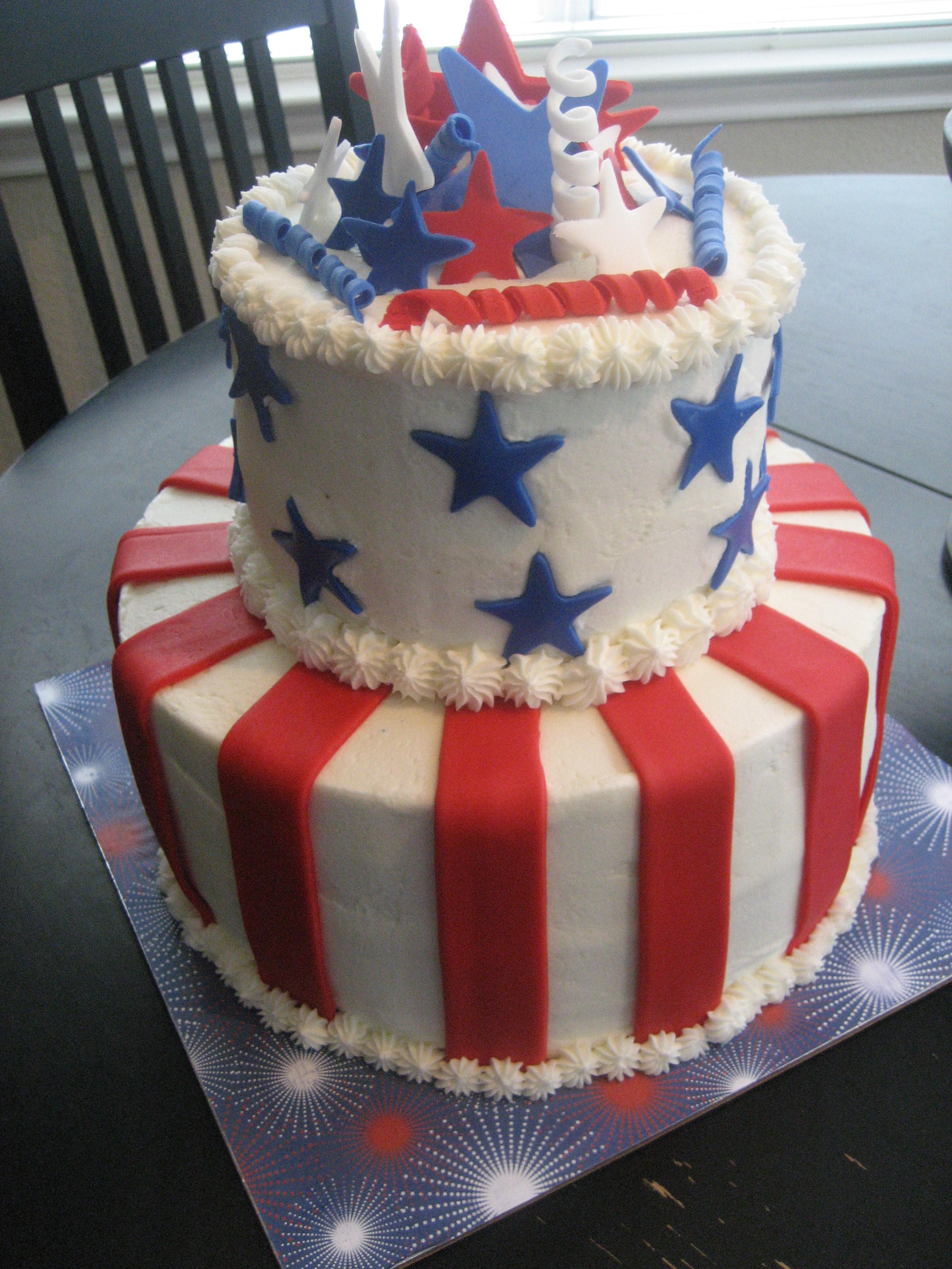 4th of birthday july cakes pictures best photo