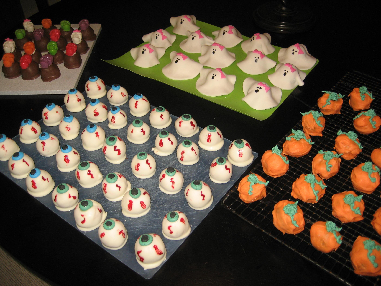 Strange Cake Decorations