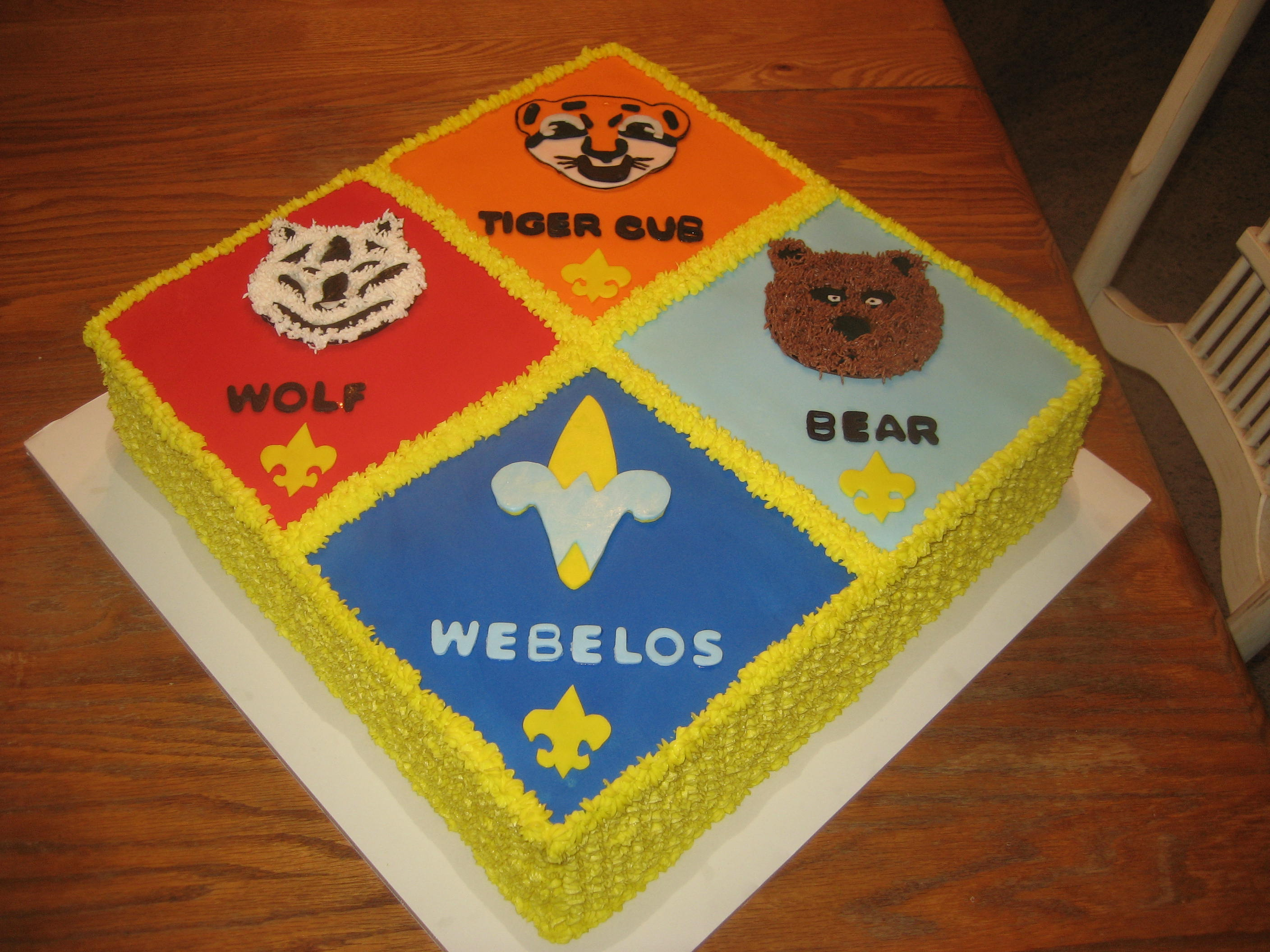 Wolf Cub Scout Cake Ideas 54773 The Cub Scouts Kimberly S