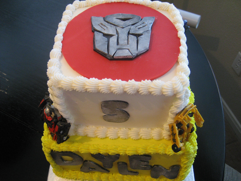 Admirable Transformer Birthday Cake Kimberlys Kakery Blog Funny Birthday Cards Online Ioscodamsfinfo